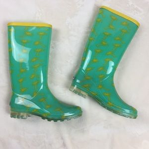Shoes - Bootsi Tootsi Womens Rubber Mid Calf Rain Boots